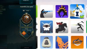 Comparison of the Bronze Player Icon in League of Legends and Season 1 Player Icon in Overwatch being equipped.
