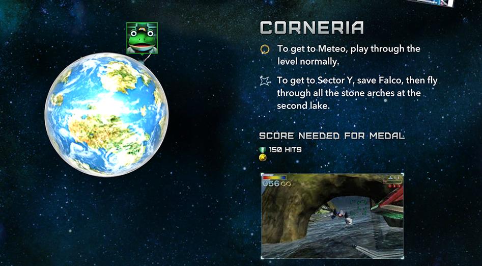 starfox64corneria