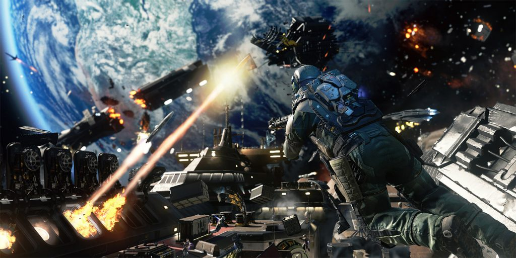 """""""Infinite Warfare"""" - whilst Battlefield goes back into WW1, Call of Duty this time goes way ahead into the future even futher than Black Ops III"""