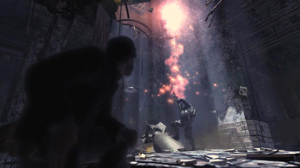 """""""Gulag"""" - shot from Modern Warfare 2"""