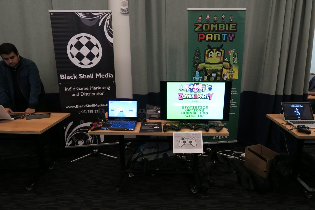 Our table at the Playcrafting SFO expo in early 2016