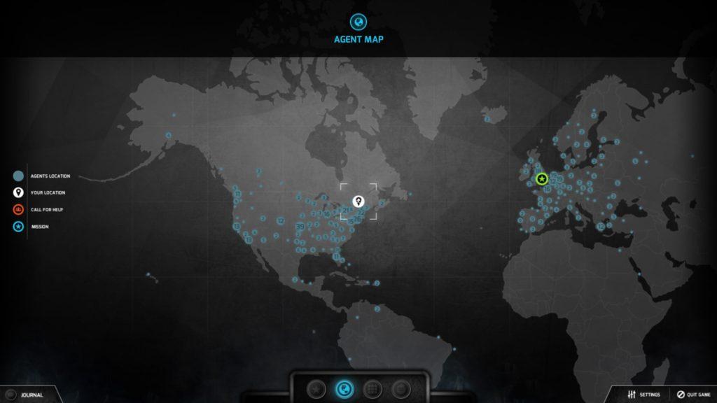 Screenshot of The Black Watchmen.
