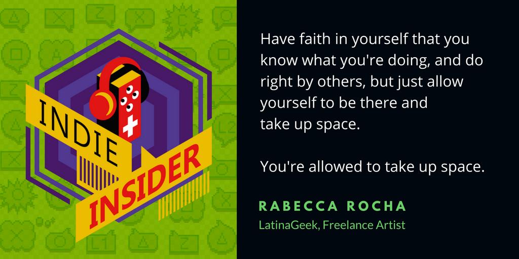 Indie Insider Podcast #12 – Rabecca Rocha