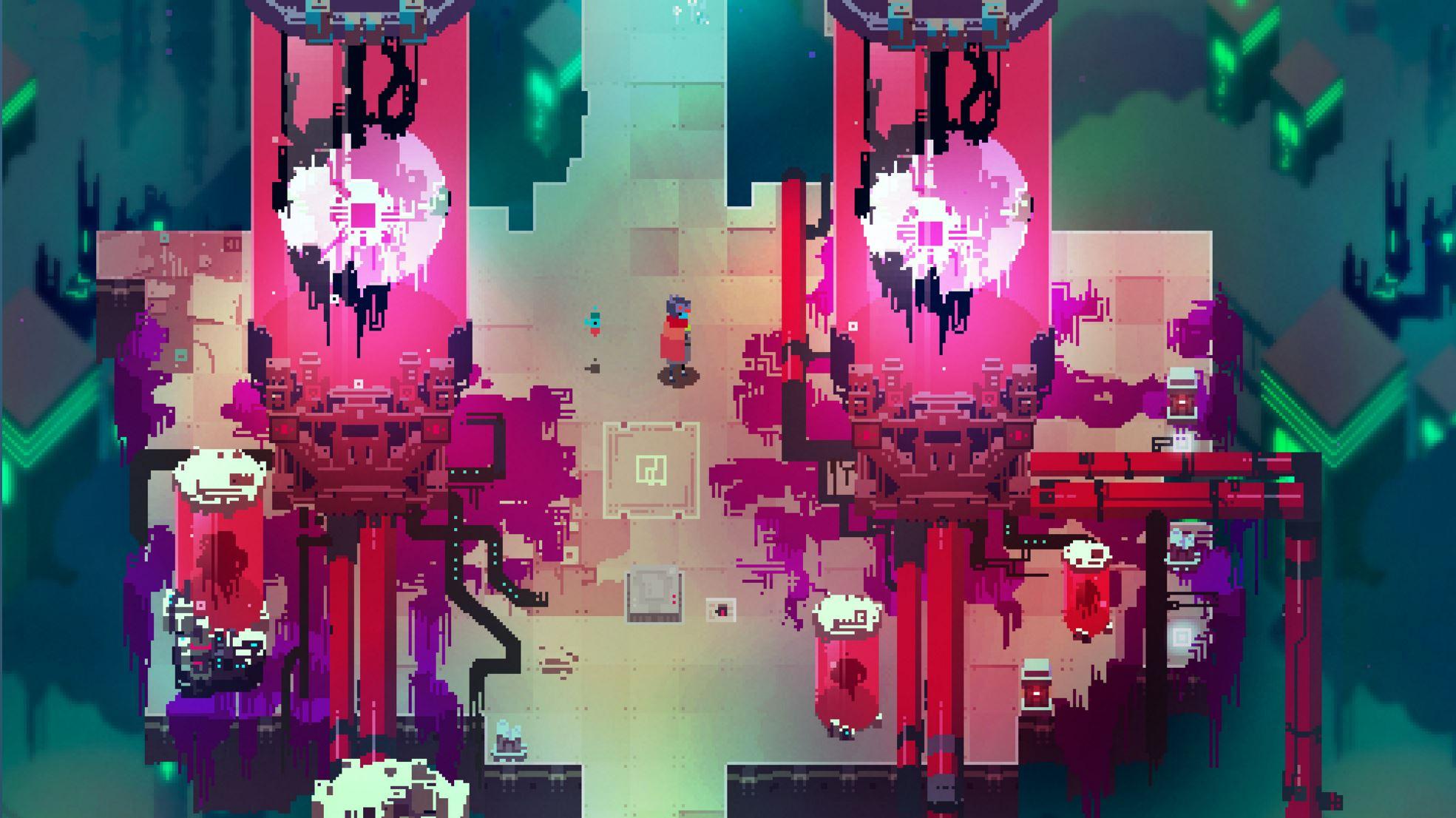 hyper light drifter indie game art design