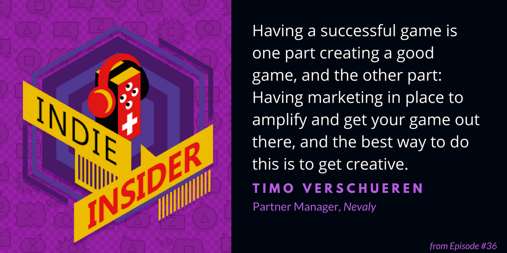 Indie Insider #36 – Timo Verschueren, nevaly