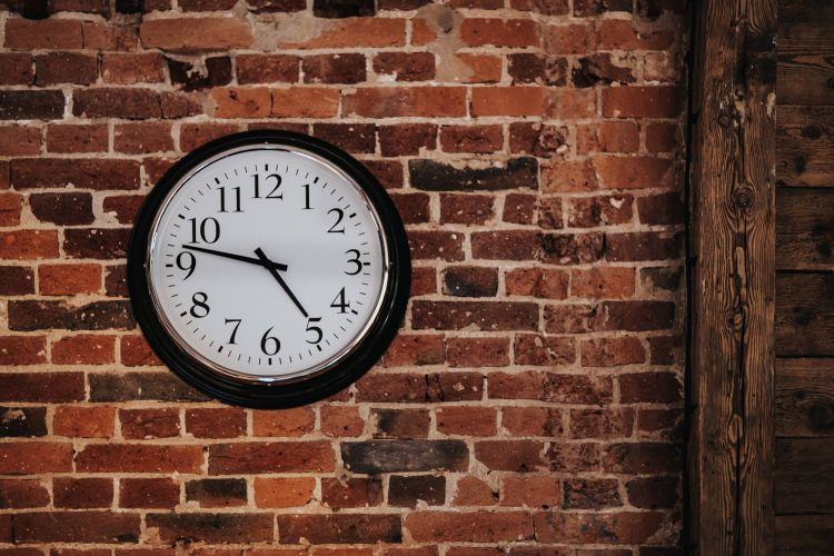 http://kaboompics.com/photo/2792/fancy-interior-with-a-red-brick-wall-and-a-clock