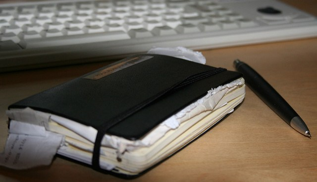 """My Messy Moleskine"" is licensed under CC BY 2.0"