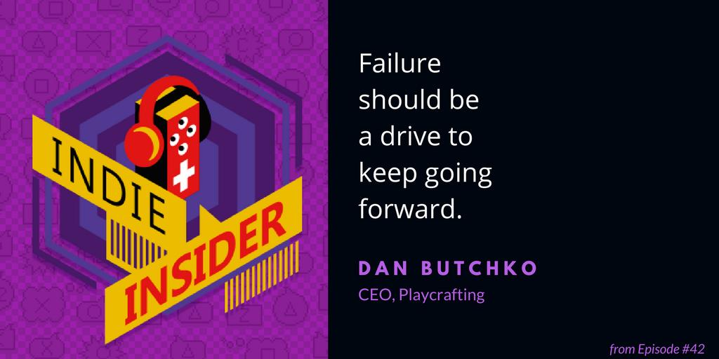 Indie Insider #42 – Dan Butchko, CEO of Playcrafting