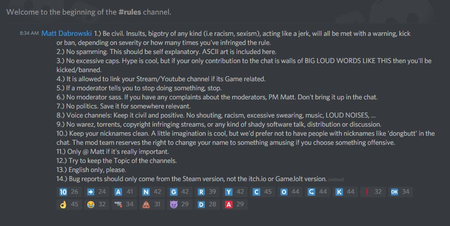 discord rules