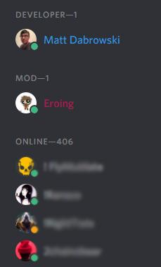 discord color coding