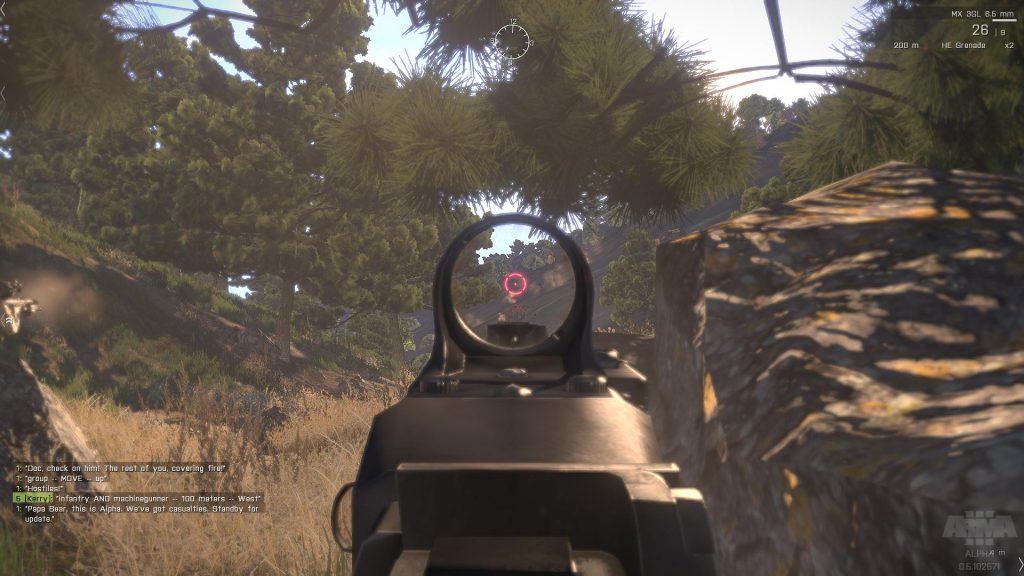 aim down sight fps game